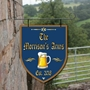 Picture of Shield Shaped Personalised Home Bar Hanging Sign