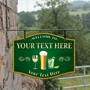 Picture of Personalised Home Gin Bar Hanging  Pub Sign