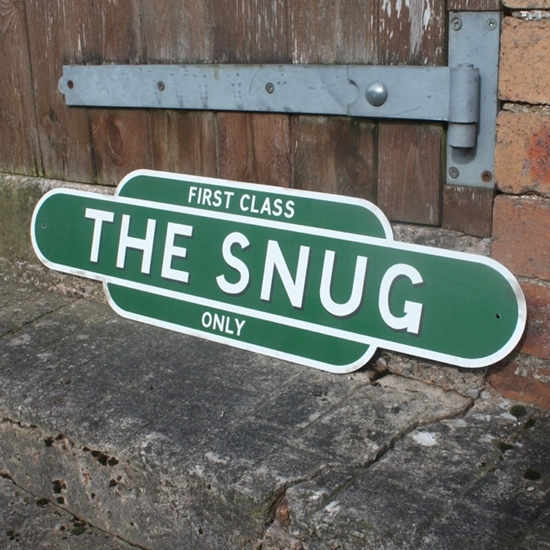 Picture of Vintage Style THE SNUG Sign