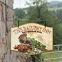Picture of Railway Train Hanging  Pub Sign