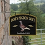 Picture of Personalised Pigeon Design Hanging Sign