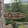 Picture of Personalised Hanging Station Totem Sign