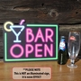 Picture of Bar Open Sign - Neon Effect