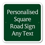 Picture of Square UK Road Sign