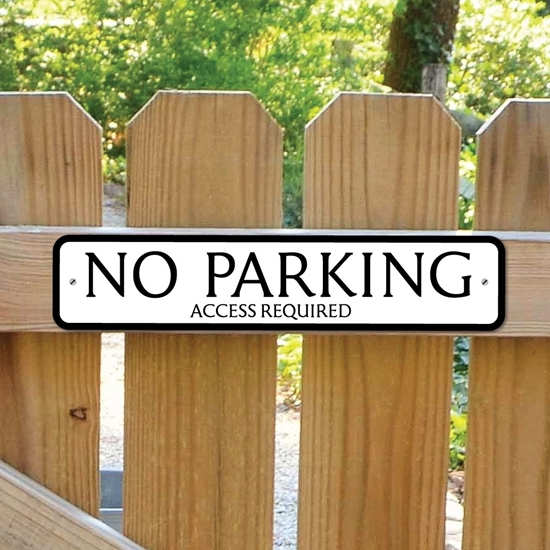 Picture of No Parking Road Sign