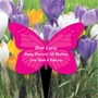 Picture of Personalised Butterfly Plaque Grave Sign