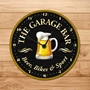 Picture of Personalised Home Bar Clock with pint logo