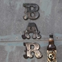 Picture of Mirror BAR Letters