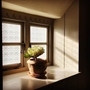 Picture of Traditional Etched Effect Window Film - Arts & Crafts