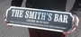 Picture of Personalised Mirror Vintage Road Sign Family Name plaque