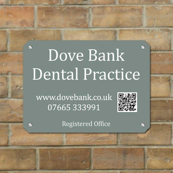 Picture of Modern Registered Office Sign